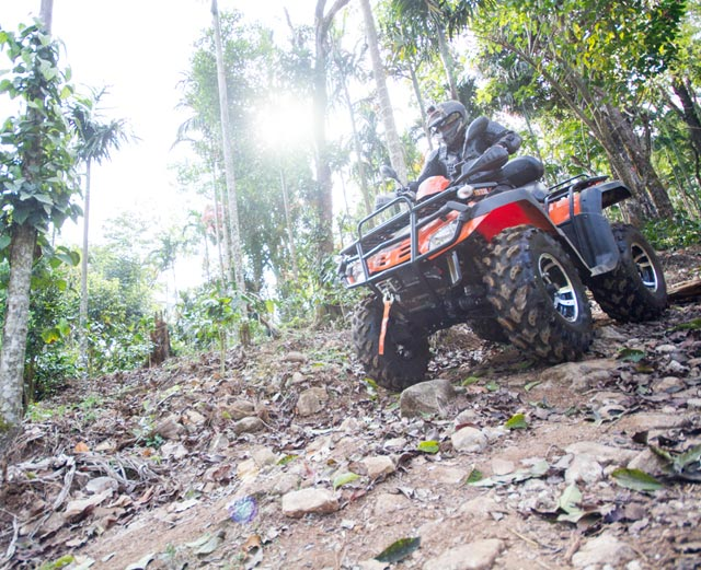 Misty Woods Resort | Outdoor Activities | ATV Ride