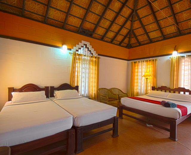 Misty Woods Resort | The Mansion House | Spacious Rooms | Cottage Interior View