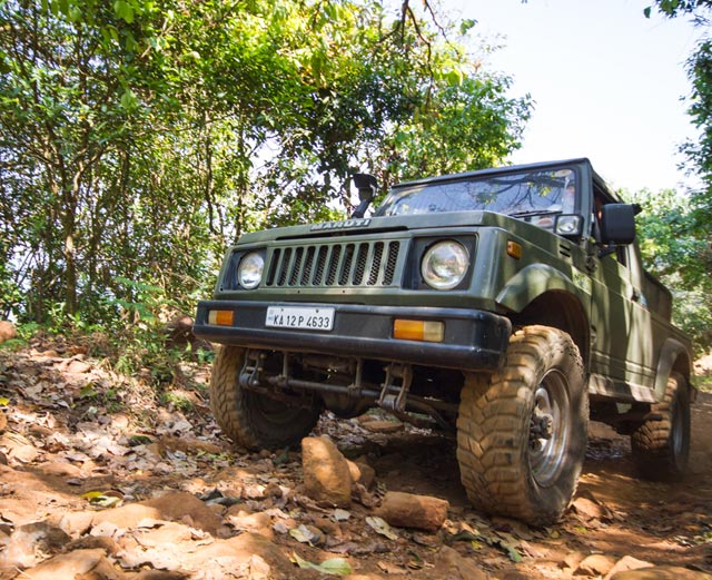 Misty Woods Resort | Outdoor Activities | OffRoading with Jeep