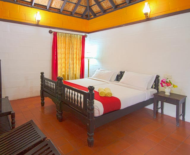 Misty Woods Resort | Vernacular Styled Cottages | Spacious Rooms | Cottage Interior View