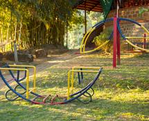Misty Woods Resort | Image Gallery | Children Play Area | Swings